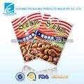 muestras gratuitas de alimentos de plástico de embalaje bolsa para frutossecos