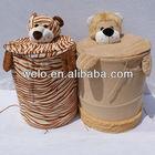 Lovely animal basket laundry h