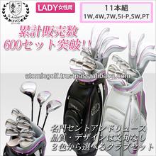 [women's golf club products] St.Andrews golf SAF601L club set 11pieces with caddy bag