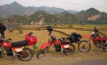 Used Honda dirt bike XL 125-150cc for sale in Hanoi, Vietnam