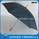 wholesale high quality wooden handle umbrellas 60cm manual open Advertising Golf Umbrella/outdoor umbrella