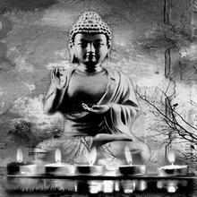Female Buddha led light pictures