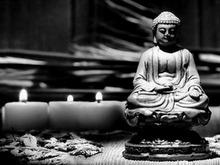 Promotional Female Buddha led light pictures