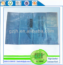 Recycle plastic woven bag for luggage packing