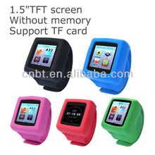 wrist band mp4 player mp4 music player supplier manufactory