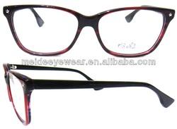 Newest acetate optical frames memory eyewear optical frame