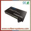 fast ethernet fiber switch 8 RJ45 port + 1 fiber port