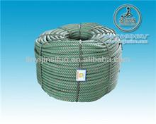 Pale green twist 3 strands pe monofilament rope