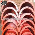 durable de hormigón curvo las formas con la fábrica de guangzhou