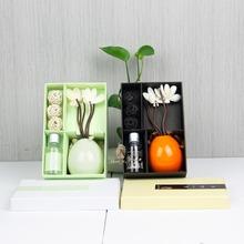 Best sale ceramic flower fragrance diffuser air freshener auto spray