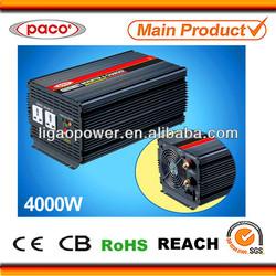 UPS Automobile Solar inverter charger 4kva 230volt for 12v/24v lead acid batteries
