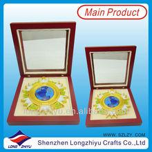 Custom medallion award medal coin as anniversary memento gifts