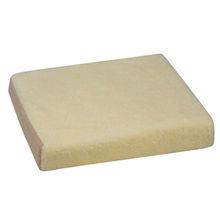 DMI Polyfoam Wheelchair Cushion, Brown/Fleece