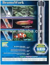 BeamsWork Fully Submersible LED Stripe Aquarium Light Fish Tank lamp