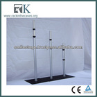 2013 RK hight quality Aluminum Cheap Pipe Drape with Adjustable Pipe Drape for Outdoor