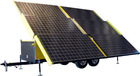Solar Powered Generator - 18 Kilowatts Max Output - 120/240 Volts AC 3 Phase - 30' Trailer Config