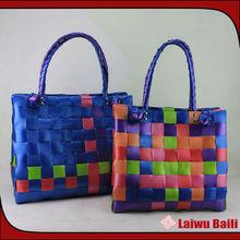 2013 new women's creative plastic flower decorated handbags