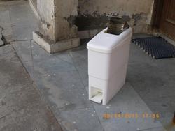 Antibacterial Feminine Sanitary bins