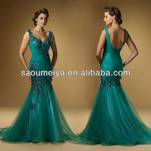 oumeiya mob93 zerafet denizkızı taban uzunluğu spagetti kayışlar arkası açık zümrüt yeşili gelinin annesi elbise ısmarlama