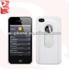 White Snap-on Bottle Opener Phone Case for iPhone 4S 4