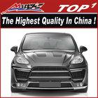 body kit for Porsche 2011-2014 Cayenne 958 TURBO LUMM-A Style wide body 6 exhaust 958 turbo body kit(front bumper, rear bumper)