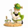 Resin Irish Leprechaun Figurine Saint Patrick Day