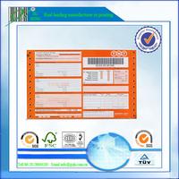 NCR paper air waybills, TNT, FedEx, UPS, DHL