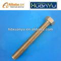 Boulon à tête hexagonale din 933 classe 4,8/8.8/10.9 dacromet revêtement, ele- galvanisé, revêtement de zinc