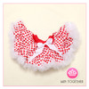 red and white polka dots tutu pettiskirt in stock