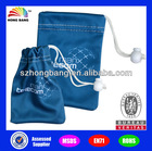 HB929 Hand-made Drawstring Recyclable Folding Glasses Microfiber Bag