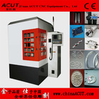 Whole-enclosed Metal Badge Making Machine with high precision ACUT-6060
