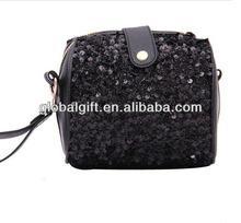 Retro sequins camera bag change purse makeup bag