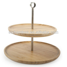 new design bamboo serving trays