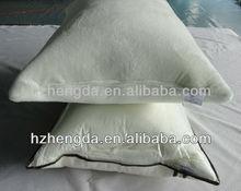 Shredded cylinder memory foam pillow