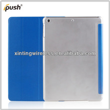 2013 Hot Selling PU Leather Stand Smart Cover For IPad Air