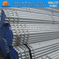 Revestido de zinco extremidade rosqueada bs1387 galvanizado a quente de tubos de água refrigerada para a construção de tubulação construção/tubo da china fornecedor
