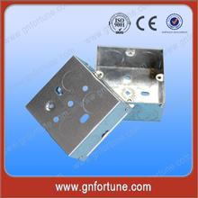 Square 3*3 Waterproof Steel Metal Box