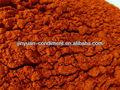 chile rojo en polvo pimienta