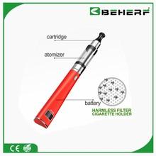 Beherf health product quit tobacco rechargeable e vaporizer e cigarette flavored hookah pen x6