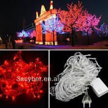20M Red Christmas String Lights LED 220V EU