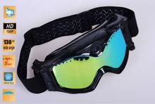 2012 Hot Sale HD 720P Ski Goggles Camera With Fashion Design