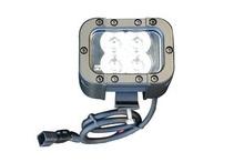 20 Watt Ultraviolet LED Emitter - 365NM - 4 UV LEDs - NDT - 9-42VDC - Extreme Environment