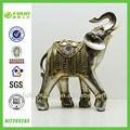 de alta qualidade ornamental resina elefante estátua decoração home