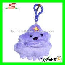 D944 LSP LUMPY SPACE PRINCESS Adventure Time Plush Custom Key Chain