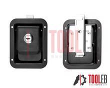 Black Painted Cabinet Lock - Mini (steel)