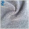 men suede shoes fabric bonded sherpa fleece fabric/suede handbag fabric/suede curtain fabric