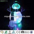 2014 New design LED christmas handmade snowman crafts