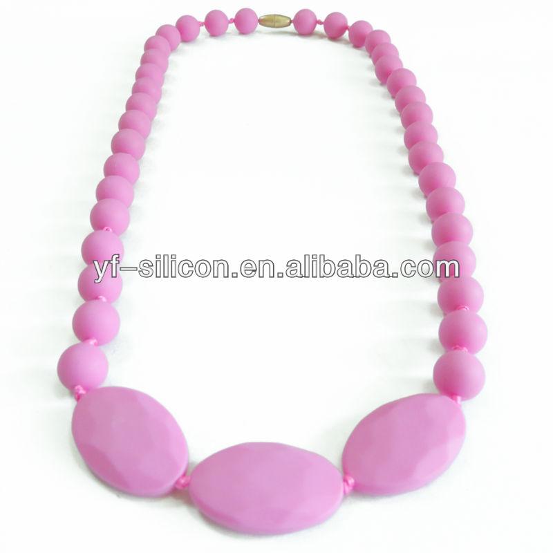 Food Grade BPA Free Unique Beautiful Women Accessories Necklace