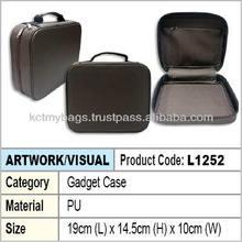 PU Zipper Gadget Case