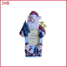 Petsmart Vendor christmas gift resin photo frame cheap santa claus gift picture frame